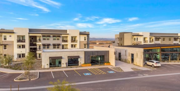 Resident Garages & Covered Parking at The Premiere at Eastmark Apartments, P.B. BELL, Arizona