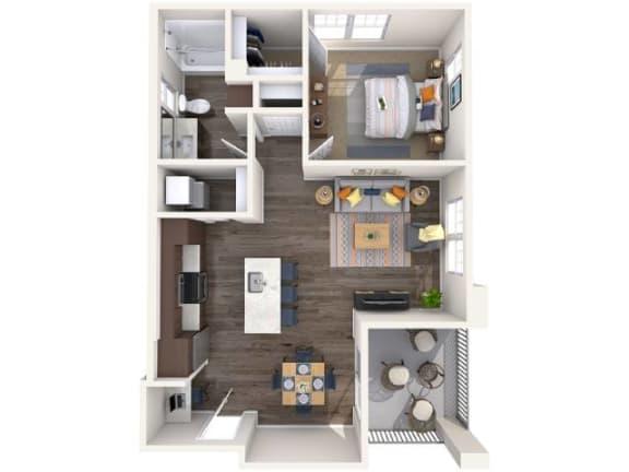 Floor Plan  L1 Floor Plan at Copper Falls, Glendale, 85305