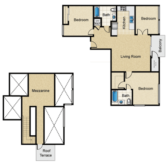 Floor Plan  west-la-luxury-apatrtment-1759-beloit-floorplan-H1.