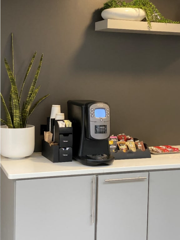 Coffee Lounge For Your Convenience