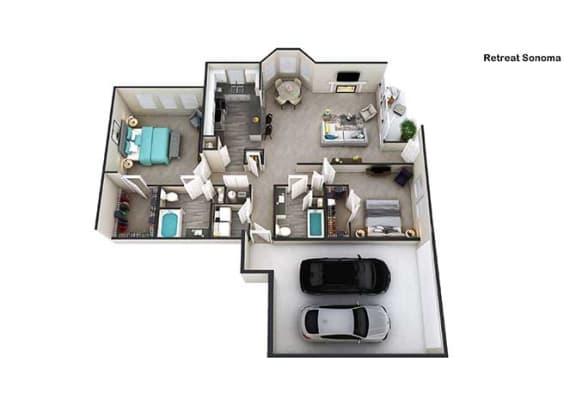 Floor Plan  Sonoma I