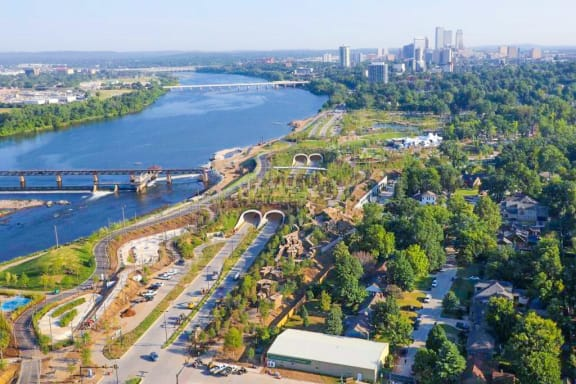 Riverside Park Apartments Tulsa Arkansas River Trails