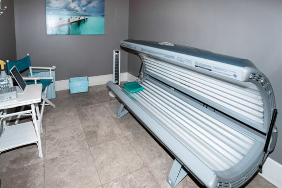 Sonoma Grande Apartments Tanning Bed