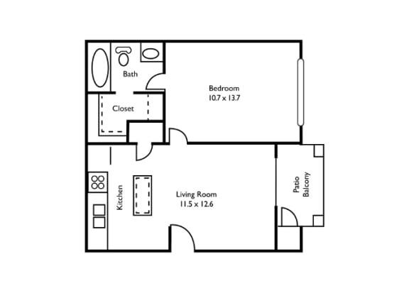 1 bedroom, Atlanta, GA, apartments, rentals