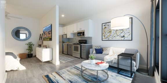 Designer Cabinets at Link Apartments® Grant Park, Atlanta