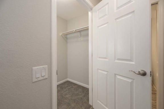 Large Closets at Del Norte Place Apartment Homes, El Cerrito, California