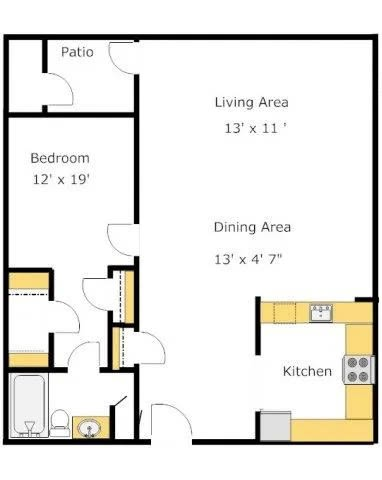 A3 floor plan image