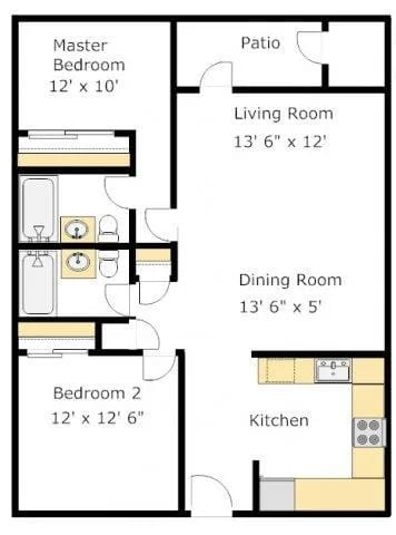 B3 floor plan image