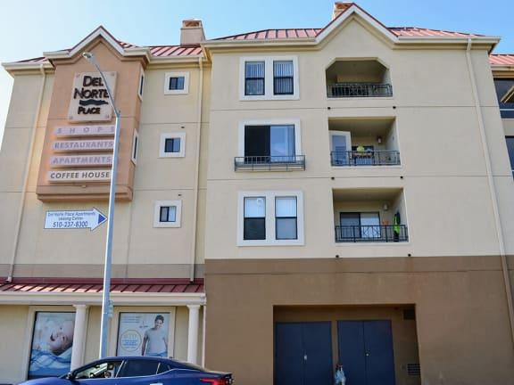 Locked Access Doors to Each Building at Del Norte Place Apartments, El Cerrito, CA