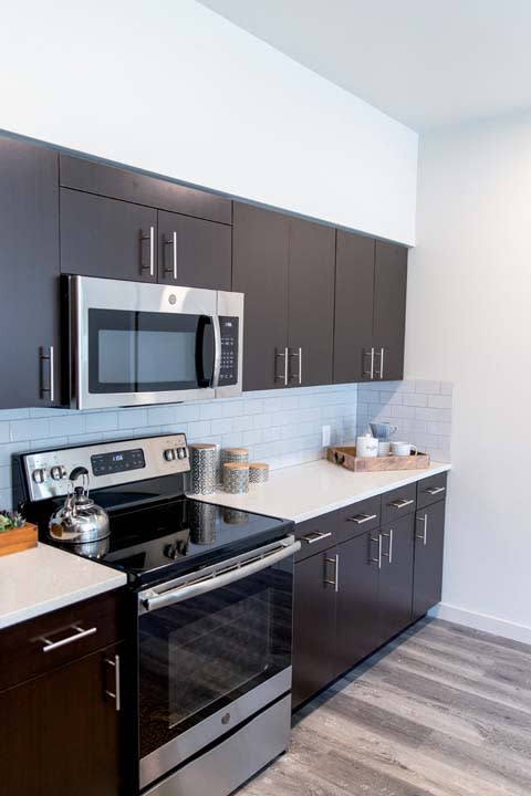 Stainless Steel Appliances at Hearth Apartment Homes, Vancouver