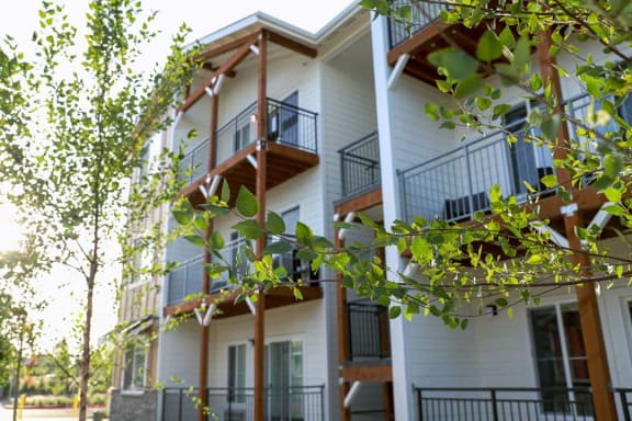 Private balcony or patio at Hearth Apartment Homes, Vancouver, WA, 98684