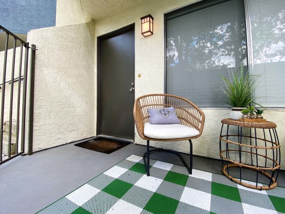 Independent Patio at Waterleaf Apartment Homes, Vista, CA