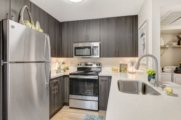 Fully Furnished Kitchen at Altair, Escondido, CA