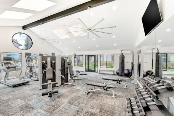 State of the Art Fitness Center at Altair, Escondido, California
