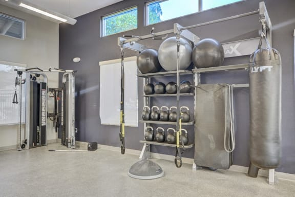 High-Tech Fitness Center, at Park Pointe, CA, 92019