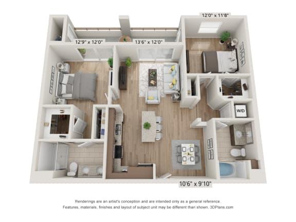 Main Street Village Inyo Floor Plan