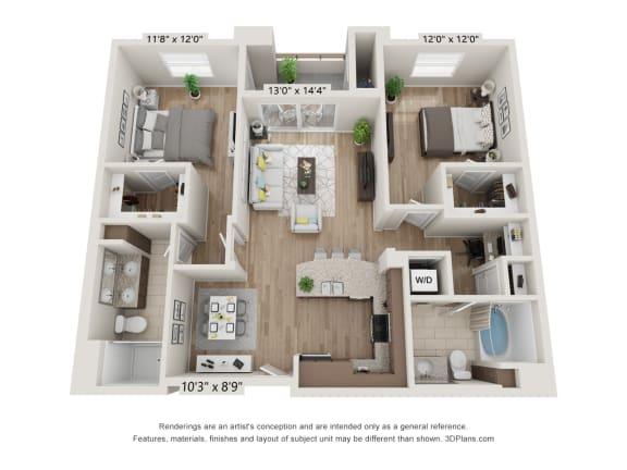 Main Street Village Mendocino Floor Plan