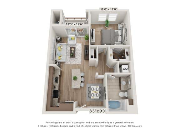 Main Street Village El Dorado Floor Plan