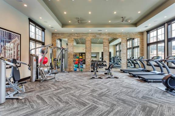Fitness Center| Axis Kessler Park Apartments
