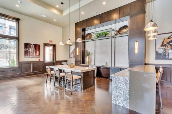 Entertainer's Kitchen | Axis Kessler Park Apartments