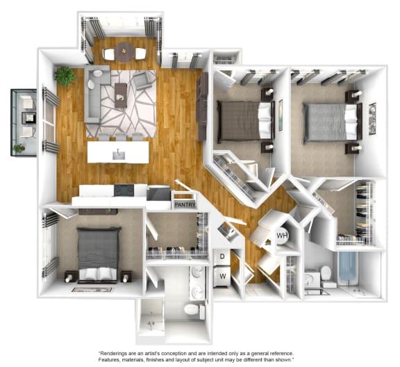 Floor Plan  E01