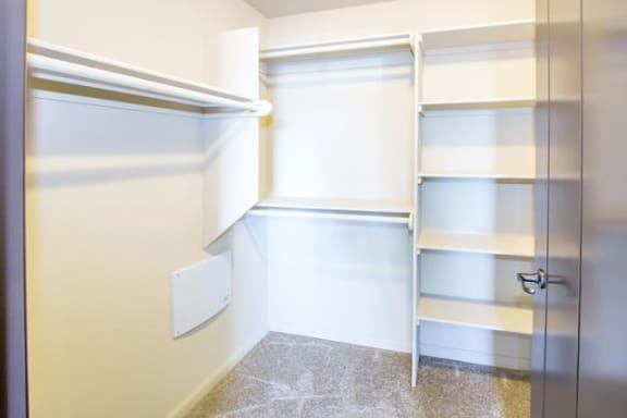Spacious Walk-In Closets at Le Blanc Apartment Homes, Canoga Park, California
