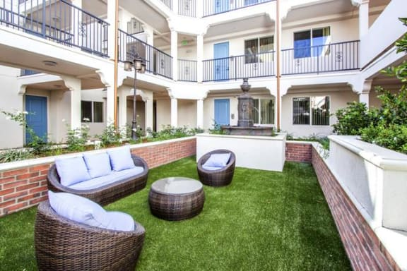 Recreation And Relaxation at Le Blanc Apartment Homes, Canoga Park