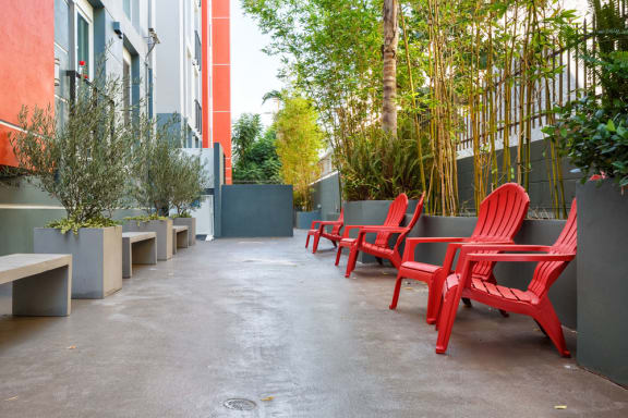 Amazing Outdoor Spaces at The Social, North Hollywood, 91601