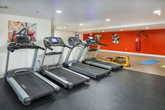 Fully Equipped Fitness Center at The Social, California