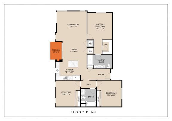 Floor Plan  unit a floor plan