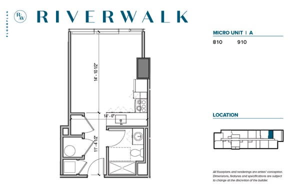 Floor Plan  Architectural schematic of floorplan