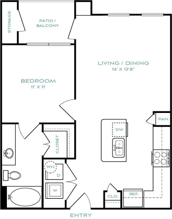 one bedroom apartments in haltom city