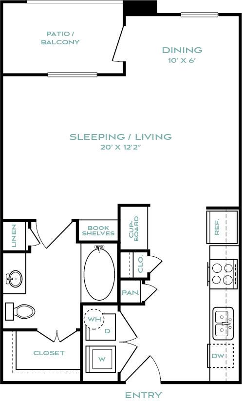 studio apartments in haltom city
