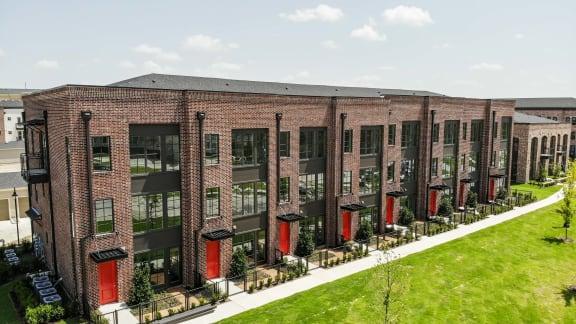 Expansive patios & balconies