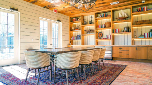 Private Dining at Fireside Courts
