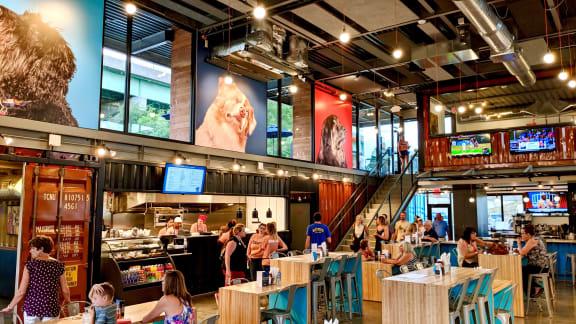 Ample Fine Dining And Bar Options In Neighborhood at Union Berkley, Kansas City, 64120