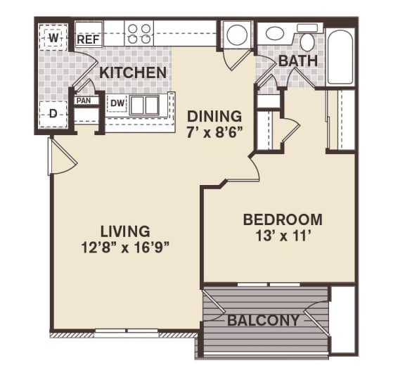 Beacon Hill Floor Plan at Providence at Old Meridian, Indiana