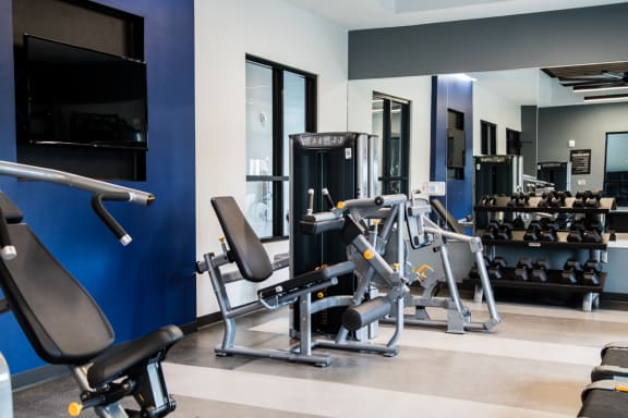 High-Tech Fitness Center at The Century at Purdue Research Park, West Lafayette, 47906