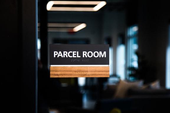 Package Receiving Room with Parcel Pending