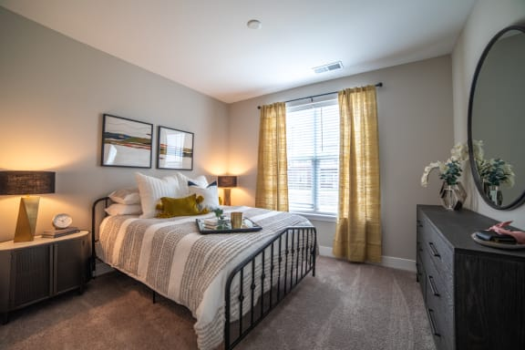 Large Master Bedrooms at The Century at Purdue Research Park, West Lafayette, Indiana