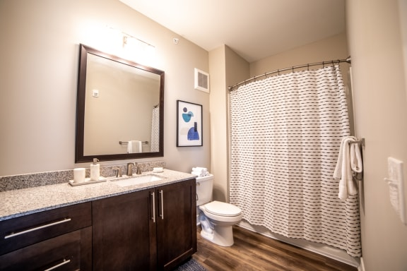 Luxurious Bathrooms at The Century at Purdue Research Park, West Lafayette, 47906