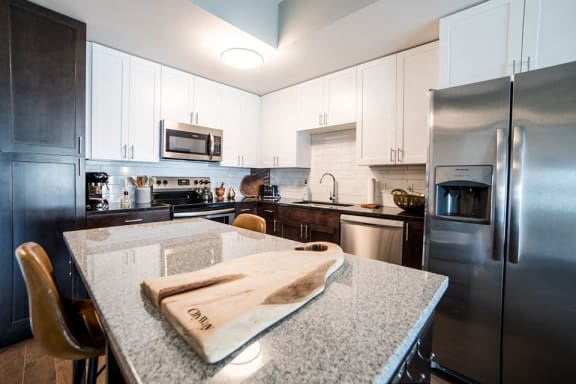 Fully Equipped Kitchen at CityWay, Indianapolis, Indiana