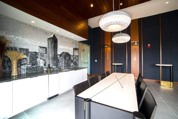 Conference Room at CityWay, Indianapolis