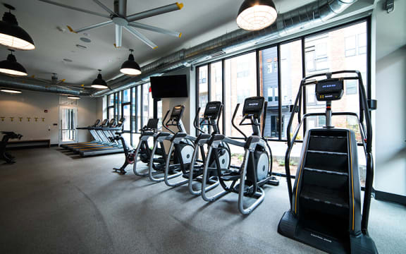 Peloton Bike And Training Space at CityWay, Indianapolis, IN, 46204