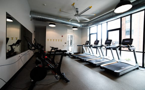 Fitness Center at CityWay, Indianapolis, 46204