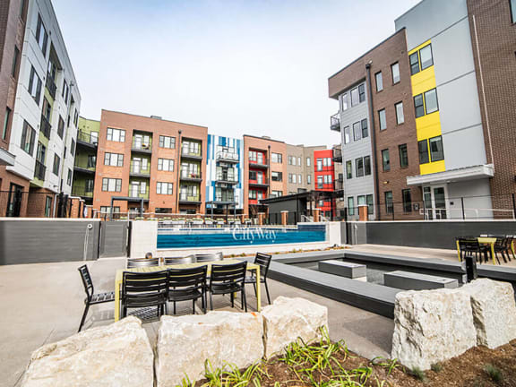 Luxury apartments in downtown Indianapolis