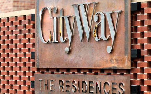 Welcoming Property Signage at CityWay, Indianapolis, IN, 46204