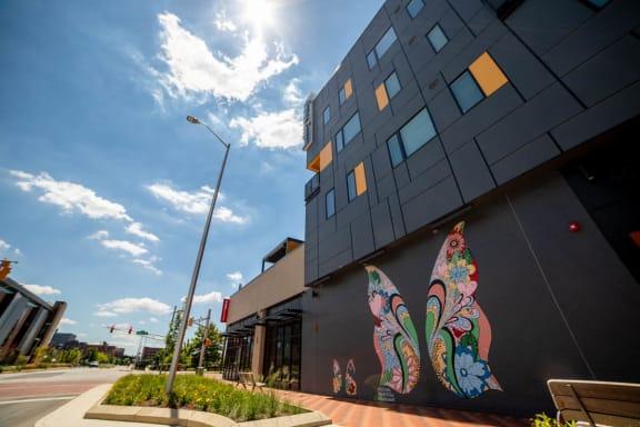 Elegant Exterior View at CityWay, Indianapolis, Indiana