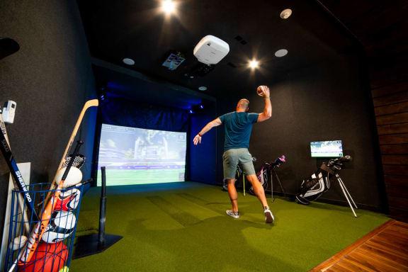 Multi-sport Simulator at CityWay, Indianapolis, Indiana