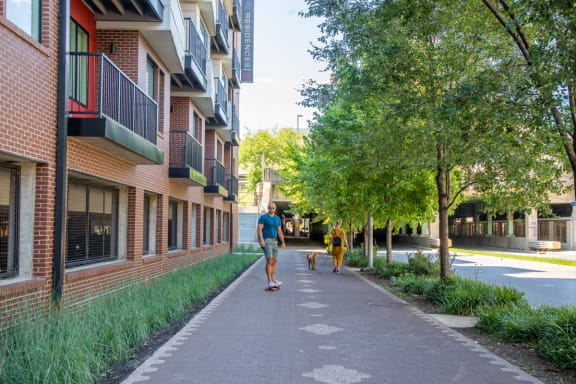 Safe Outdoor Walking Paths at CityWay, Indiana